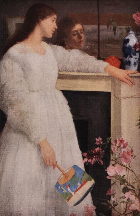 Little White Girl. James McNeill Whistler